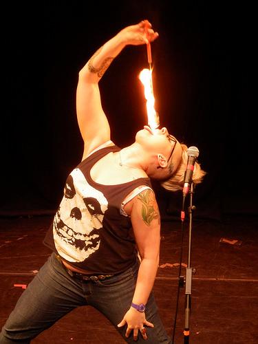 Abigoliah Schamaun Fire Eater