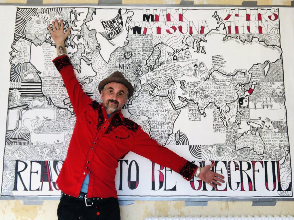 Markus Birdman & His 2020 Mural
